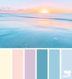 Heavenly Hues Archives Design Seeds Colour Pallete Color Combos Pastel Palettes