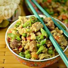 Cauliflower fried 'rice' @ allrecipes.co.uk