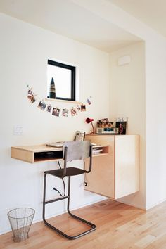 Contemporary Home Office by Glo European Windows & Doors