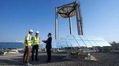 So will Dubai Wüstensand als Energiespeicher nutzen