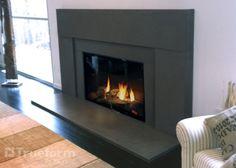 Concrete Fireplace Surrounds, Mantels, Hearths - Trueform Concrete