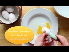 Eier ausblasen - leicht gemacht! / How To Blow Out Eggs / © Probiere das mal aus! - YouTube