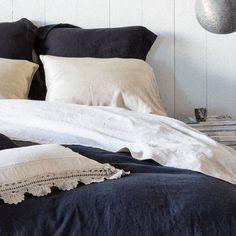 Bella Notte Flat Sheet Linen @Layla Grayce