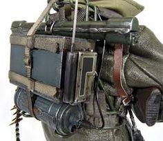 Bildergebnis für German man pack radio WW2