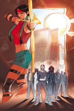Dani Moonstar, formerly Mirage (cover to Generation M #5)
