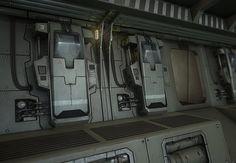Halo modular environment, Oleg Tsitovich on ArtStation at https://www.artstation.com/artwork/halo-modular-environment