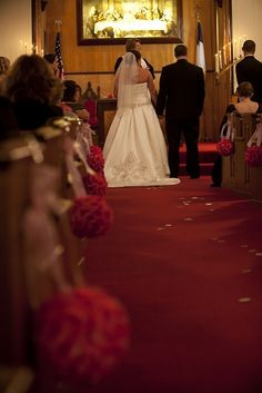 Pew Hangers :  wedding ceremony church decoration diy flowers hanging hooks pew reception 0137