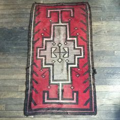 These rugs were saved from the basement of a former Navajo rug repair woman up… Navajo Weaving, Navajo Rugs, Aztec Tribal Patterns, Chevrolet Logo, Basement, River, Woman, Vintage, Art
