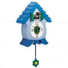Gift Company Cuckoo Clock EWECOO Sheep - a wonderfully colorful cuckoo clock, where a sheep replaces the cuckoo. It will add a bit of craziness and revolutionize your home.