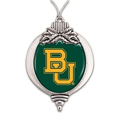 GREAT FOR CHRISTMAS!   Baylor Bears Pewter Christmas Ornament Sports Team Access... https://www.amazon.com/dp/B075W3T3CK/ref=cm_sw_r_pi_dp_x_Ddj-zbTMJHZGQ