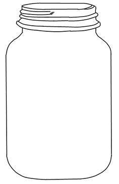 50+ Mason jar clipart outline information