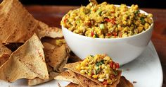 Chickpea salad is a delicious, flavorful, healthy and easy vegetarian salad using chickpeas, fresh vegetables and seeds. Such a tasteful combination. Chickpea Salad Recipes, Vegetarian Salad Recipes, Healthy Recipes, Slaw Recipes, Pescatarian Recipes, Drink Recipes, Delicious Recipes, Vegan Vegetarian, Salad Places