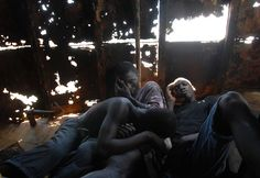 In the slums of Freetown, Sierra Leone, the poorest nation on earth, the