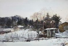 Wang Shaobo watercolor - Google Search