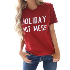 Women Fashion T Shirt O Neck Letters Print Short Sleeves Tee 2018 Summer Casual Tops Big Size Haut Femme Short Sleeve Tee, Short Sleeves, Christmas Tops, Printed Shorts, Casual Shorts, Casual Tops, Blouses For Women, Tees, Shirts