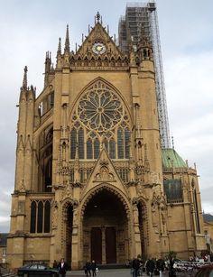 L'art gothique à la cathédrale St Etienne de Metz (avec images) · floraaudinot · Storify