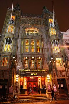 The Theatre Tuschinski in Amsterdam.  This photo was taken on December 19, 2010 By Alan Ward Wirral.