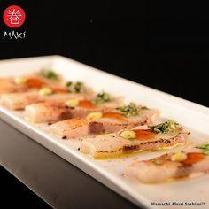 #Repost @makirest with @grabapp  In the mood for 'sea food'? Our thinly sliced torch flamed yellow tail topped with exquisite sauces will satisfy your craving. #makirest #kuwait #bahrain #manama #yellowtail #aburi #sashimi #q8foodie  Maki Burj Jassim 965 22901010  Maki Marina Waves 965  22244560  Maki Avenues 965 22597122  Maki Salhia 965 22479721  Maki Delivery Kuwait 965 22901000  Maki Bahrain Dine in and Delivery 973 17522733  Oliver Maki London 33 Dean St. Soho London. 44 (0) 20 7734…