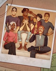 Older Voltron - I love this! Looks like Lance and Keith have become friends now.