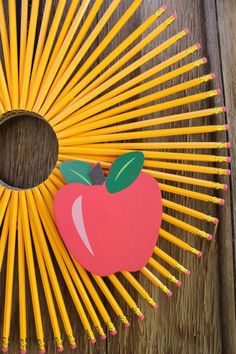 Classroom Wreath Back To School Wreath by HeartOfHomeDesign