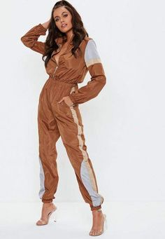 Jumpsuits for Women Shell Suit, Pants For Women, Clothes For Women, Fashion Joggers, Casual Jumpsuit, Playsuit Romper, Winter Outfits Women, Looks Style, Jumpsuits For Women