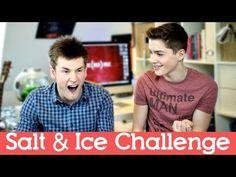 SALT AND ICE CHALLENGE!   OliWhiteTV + JacksGap - YouTube