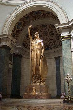 Gold Statue - Capitolio Nacional in Havana, Cuba. I ♥ Havana http://Netssa.com/havana.html