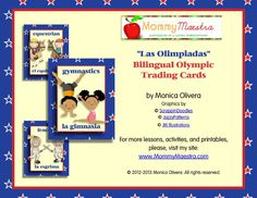 Mommy Maestra: Bilingual Olympic-Themed Cards {Printables}