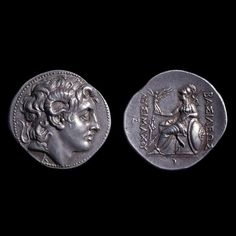 Coin with the head of Alexander, 305-281 BCE