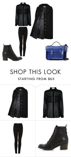 """""""Casual"""" by emma-esselmark on Polyvore featuring Hope x Nina Persson, Yves Saint Laurent, Topshop and The Cambridge Satchel Company"""