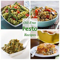 15 #vegan and oil-free pesto recipes