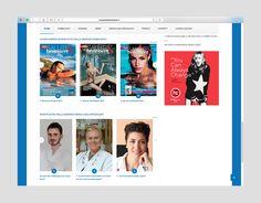 Più salute e benessere website #okcs #webdesign #web #graphicdesign