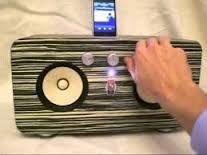 Résultats de recherche d'images pour «homemade wooden speaker box»