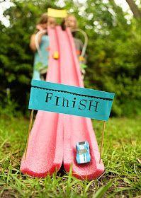 Dicas pra Mamãe: Pista de corrida para o Dia das Crianças!