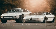 Jacked Or Slammed - How Do You Like Your BMW M1? #BMW #BMW_M1