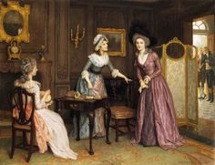 Charles Haigh-Wood angol festő (1856-1927)