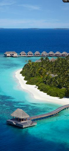This is yet just another fabulous and amazing travel destination in the Maldives. Dusit Thani is a resort opened by Asia's leading hotel group, Dusit International. The resort is located on the island of Mudhdhoo, an island in the Maldives. The resort is Vacation Places, Vacation Destinations, Dream Vacations, Vacation Spots, Places To Travel, Places To See, The Places Youll Go, Vacation Resorts, Vacation Ideas