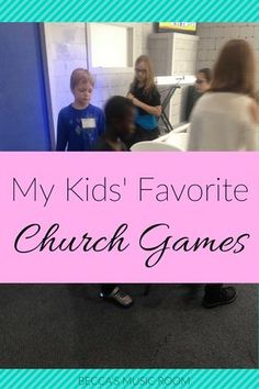 My Kids' Favorite church Games. What we play in Children's Church to help us take up time or energy! Kids Church Games, School Games For Kids, Kids Sunday School Lessons, Group Games For Kids, Sunday School Activities, Bible Lessons For Kids, Children Games, Youth Games, Church Camp