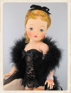 Becky's Cissy Doll by Karyn Old Dolls, Antique Dolls, Vintage Dolls, Glamour Dolls, Madame Alexander Dolls, Vintage Country, Fashion Dolls, Barbie Dolls, Countries