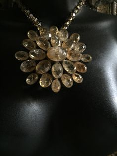 """StoneLoveArtJewelry Private Collection """"Citrine Polished Rays of Sunshine"""""""