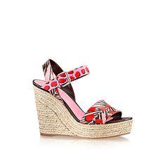 Hibiscus Sandal - Shoes   LOUIS VUITTON