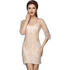 Partiss Damen elegant Spitzenkleid Sommerkleid Chiffonkleid Abendkleid Abschlusskleid Partiss http://www.amazon.de/dp/B00W3G18F0/ref=cm_sw_r_pi_dp_aunmvb15S83MV