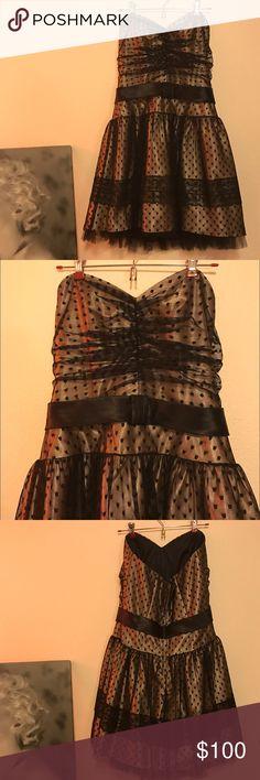 Formal Retro Dress Retro style strapless dress  Jessica McClintock Dresses Strapless