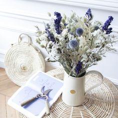 Little Flowers, Diy Flowers, Flower Vases, Beautiful Flowers, Dried Flower Wreaths, Dried Flower Arrangements, How To Preserve Flowers, Bergamot, Bunt
