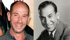 Actor Miguel Ferrer and his father, the great actor Jose Ferrer on the right.  (They look so much alike, it's amazing.)