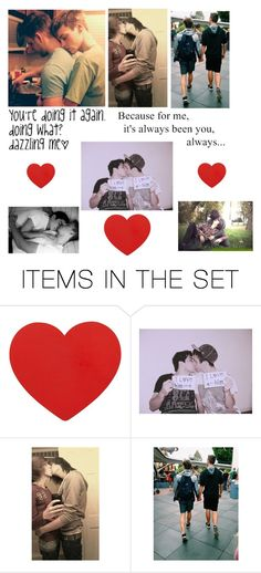 """To my one and only - Logan"" by killjoy-717 ❤ liked on Polyvore featuring art"
