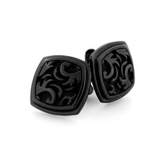 Black Ti™ Large Pallas Cufflinks