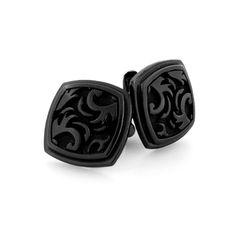 Black Ti™ Large Pallas Cufflinks