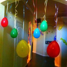 Decorations.. WILLY WONKA BIRTHDAY PARTY