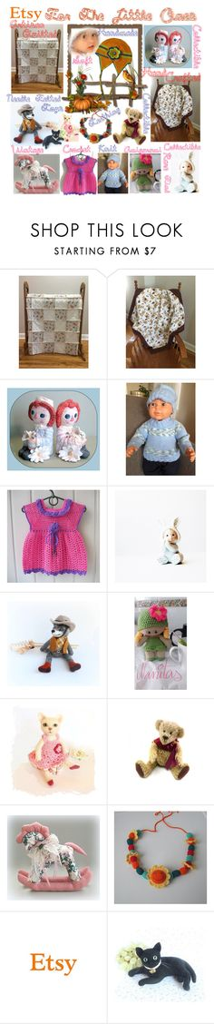 """""""Etsy For The Little Ones"""" by belladonnasjoy ❤ liked on Polyvore featuring vintage"""